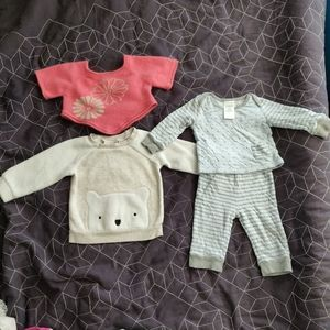 Cashmere Sweater 6-9 Month Lot for Winter